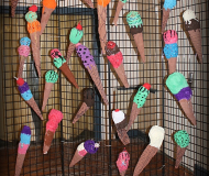 2017_LAS Children's Art Show_BEST_IceCreamCones1