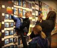 2017_LAS Children's Art Show_BEST_MomTakingPic_Son_BEST