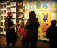 2017_LAS Children's Art Show_BEST_Kayla&Fam1B