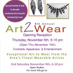 2014 Art2Wear Poster